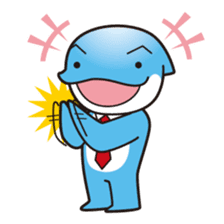 RUKA the bipedal dolphin sticker #64553