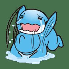 RUKA the bipedal dolphin sticker #64555