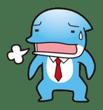 RUKA the bipedal dolphin sticker #64561