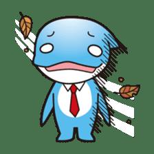 RUKA the bipedal dolphin sticker #64567