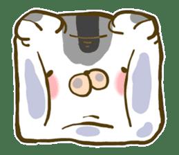 Cute animal sticker #64900