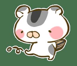 Cute animal sticker #64901