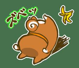 Cute animal sticker #64932