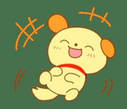 Yellow dog! sticker #65457