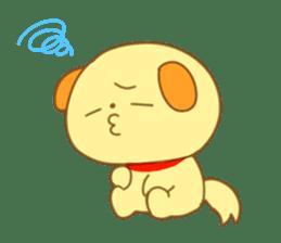 Yellow dog! sticker #65463