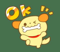 Yellow dog! sticker #65467