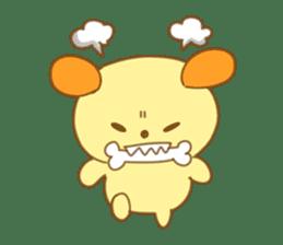 Yellow dog! sticker #65480