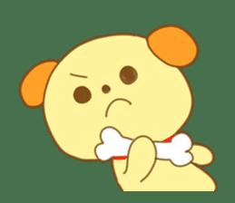 Yellow dog! sticker #65481
