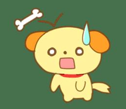 Yellow dog! sticker #65486