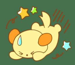 Yellow dog! sticker #65487