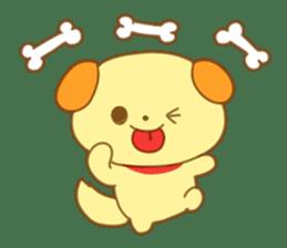 Yellow dog! sticker #65493