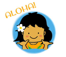 Mahalo chan sticker #65536