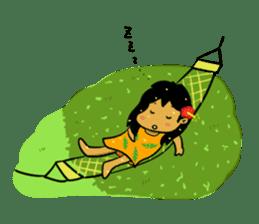 Mahalo chan sticker #65537
