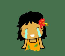 Mahalo chan sticker #65541