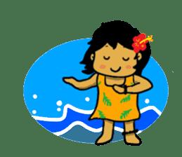 Mahalo chan sticker #65543