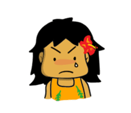 Mahalo chan sticker #65552