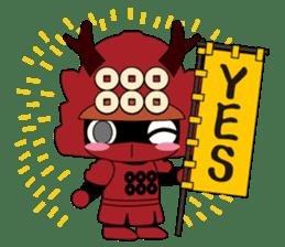 Sanada Yukimura sticker #65935