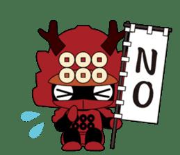 Sanada Yukimura sticker #65936