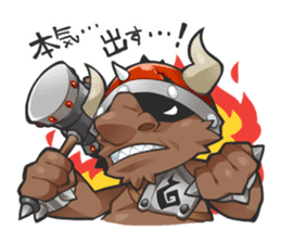 Demon King Adventures sticker #66238