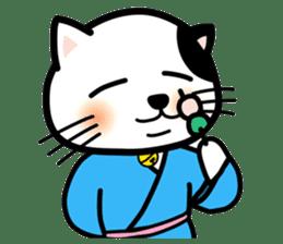 ONSEN-NYANKO (Hot Spring Cat) sticker #66416