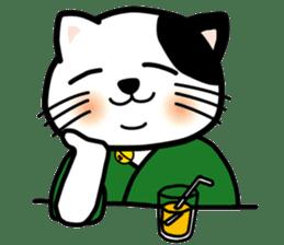 ONSEN-NYANKO (Hot Spring Cat) sticker #66432