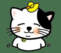 ONSEN-NYANKO (Hot Spring Cat) sticker #66441