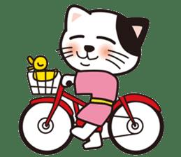 ONSEN-NYANKO (Hot Spring Cat) sticker #66444