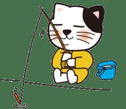 ONSEN-NYANKO (Hot Spring Cat) sticker #66450