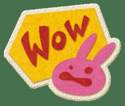 Animal Embroidery sticker #66497
