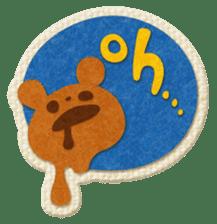 Animal Embroidery sticker #66499