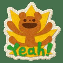 Animal Embroidery sticker #66500
