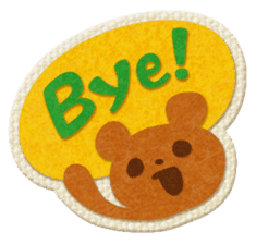 Animal Embroidery sticker #66501
