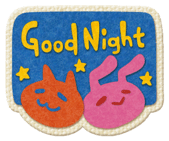 Animal Embroidery sticker #66505