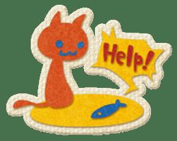 Animal Embroidery sticker #66506