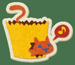 Animal Embroidery sticker #66507