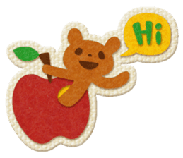 Animal Embroidery sticker #66508