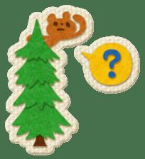 Animal Embroidery sticker #66509