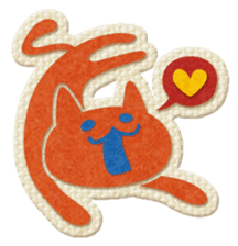 Animal Embroidery sticker #66510