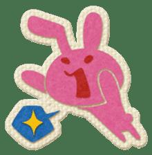 Animal Embroidery sticker #66511