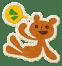 Animal Embroidery sticker #66512