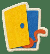 Animal Embroidery sticker #66516
