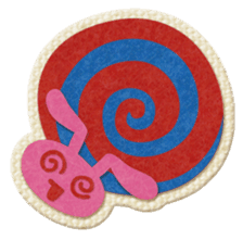 Animal Embroidery sticker #66520