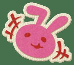 Animal Embroidery sticker #66525