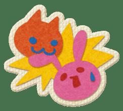 Animal Embroidery sticker #66529
