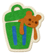 Animal Embroidery sticker #66531