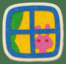 Animal Embroidery sticker #66532