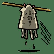 IKAE-SAN - Squid women sticker #66575