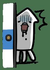 IKAE-SAN - Squid women sticker #66584