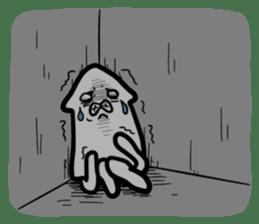 IKAE-SAN - Squid women sticker #66596