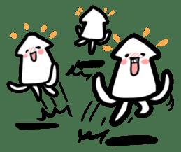 IKAE-SAN - Squid women sticker #66608